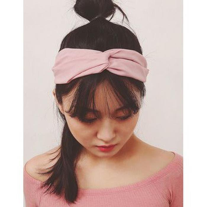 Jual  READY  Bandana Headband Lebar Wanita Turban Forever 21 Murah ... 043b5483078
