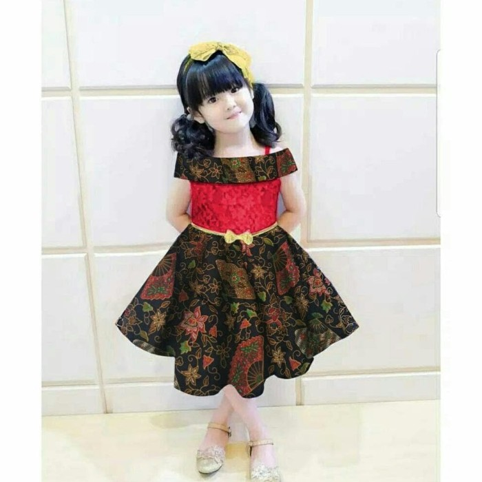 Jual Dress Celkid Dress Batik Anak Perempuan Baju Anak Perempuan Dki Jakarta Fedy Ferdiansyah Shop Tokopedia