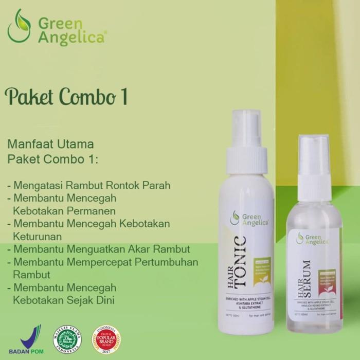 Green Angelica Paket Combo 2 Obat Alami Penumbuh Rambut Terjangkau eb6bb3dcc1