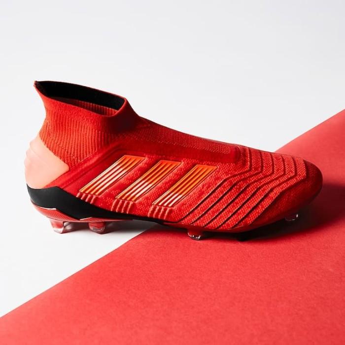 Jual Sepatu Bola Adidas Original Predator 19 Fg Active Red Bc0547