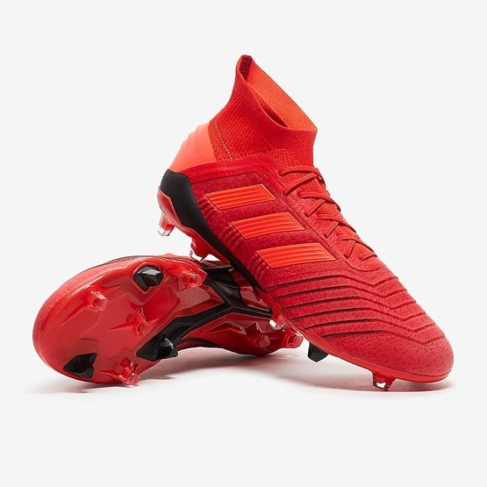 Jual Sepatu Bola Adidas Original Predator 19 1 Fg Active Red