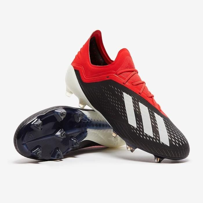 Jual Sepatu Bola Adidas Original X 18 1 Fg Black Bb9345 Kab