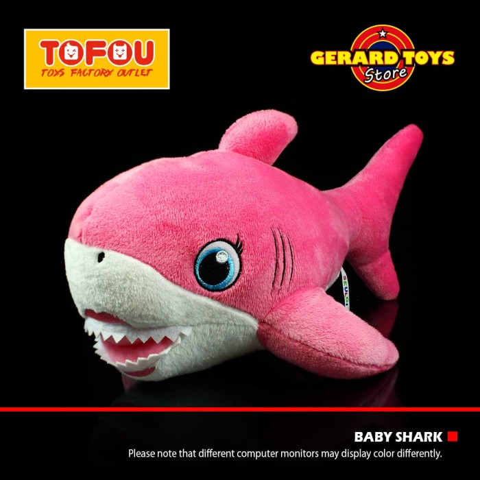 a4f5fc2aa050 Jual Mainan Anak Boneka Mommy Shark Pinkfong Import Sedang 40cm ...