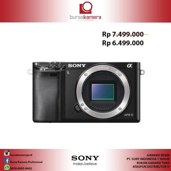harga Sony alpha a6000 mirrorless digital camera body only Tokopedia.com