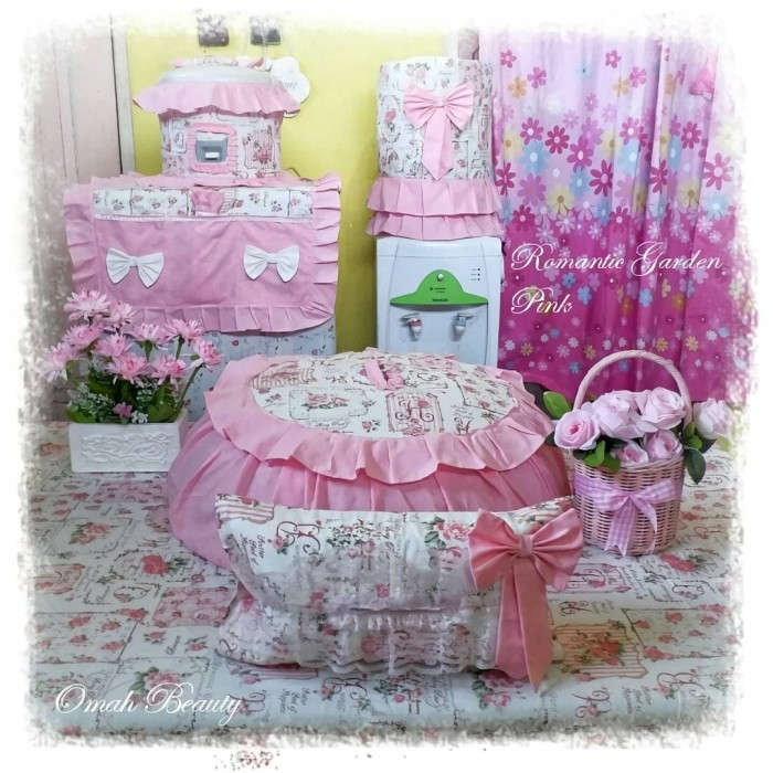 Jual Kitchen Set Full Rempel Motif Romantic Garden Kab Bantul