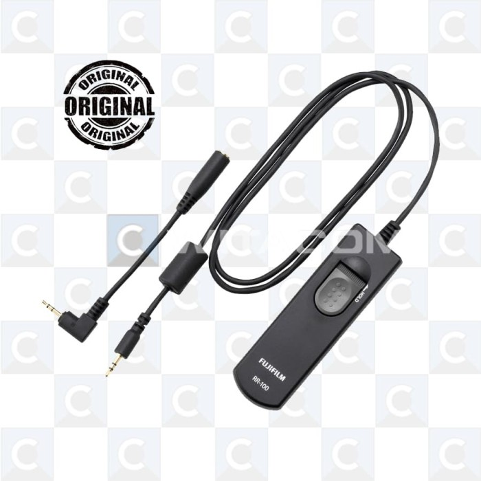 harga Fujifilm remote release rr-100 Tokopedia.com