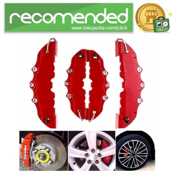 harga Brembo cover caliver pelindung rem cakram mobil - aa00085 - merah - m Tokopedia.