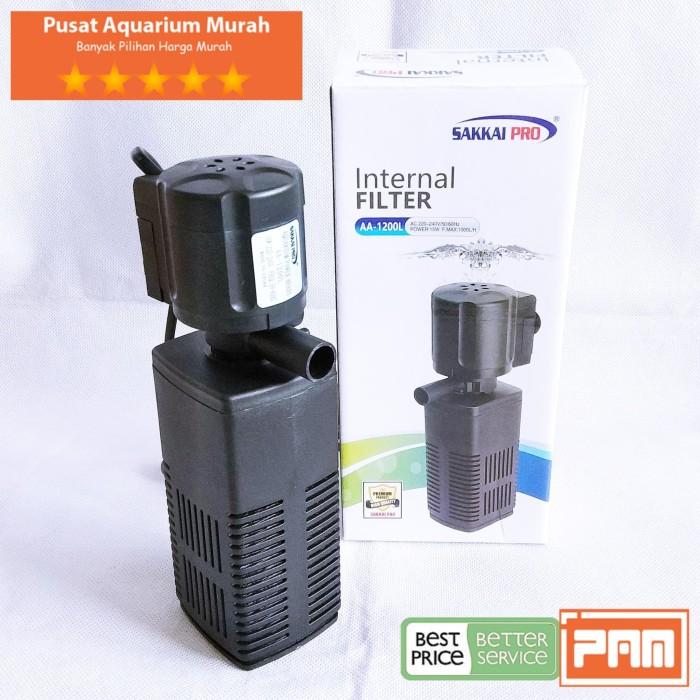 Jual Pompa Filter Aquarium Sedang Sakkai Pro Aa 1200L ...