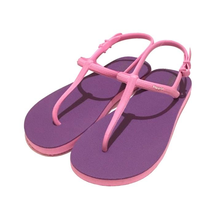 10a8e8776 Jual Sandal Fipper Strappy Purple Pink - Kota Medan - Sandal Fipper ...