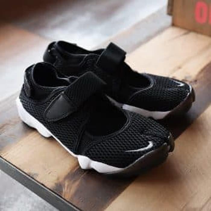 f5673ab83269 Jual Nike Ninja Air Rift Black White High Premium Original - Royal ...