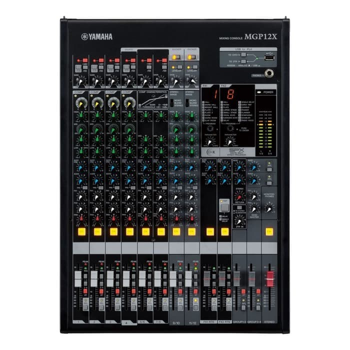 harga Audio Mixer YAMAHA MGP12X MGP 12X 12 Channel (4 Mono + 4 Stereo) Tokopedia.com