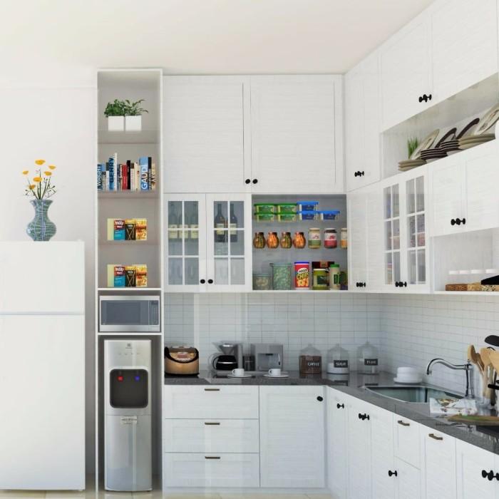 Jual Kitchen Set Aluminium Custom Kota Tangerang Home Creative Tokopedia