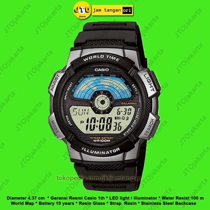 Jual Jam Tangan Pria Casio Original Sport Digital Arloji Cowok AE ... a67a5a1c69