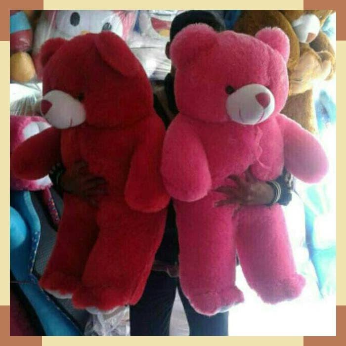 Boneka Beruang Teddy Bear Jumbo 80cm - Page 2 - Daftar Update Harga ... d3ae980324