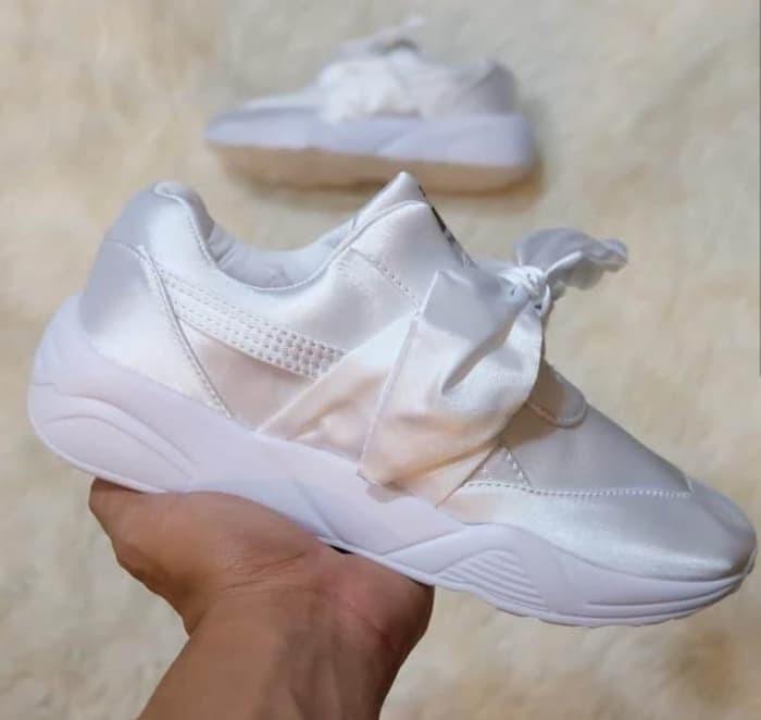 Jual sepatu Puma Bow Rihanna Premium Original   Sepatu Kasual ... 9d65ed2ae7