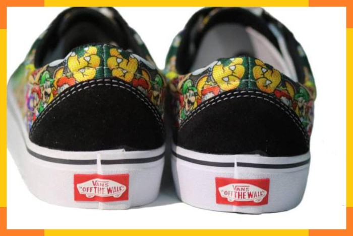 Jual Sepatu vans motif mario terbaru - din94shop  54c06992b5