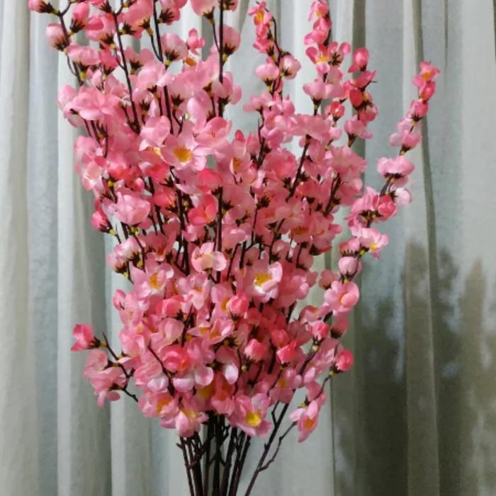 Jual Bunga Sakura Plastik Artificial Kota Tangerang Elok Florist Tokopedia