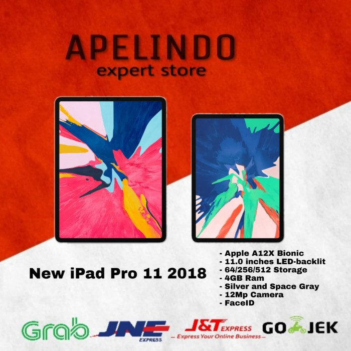 harga New apple ipad pro 11 1 tera 1tb wifi 2018 Tokopedia.com