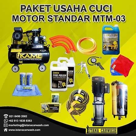 Jual Jual Produk Ikame Paket Peralatan Usaha Cuci Motor Standart
