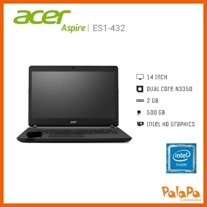harga Acer original notebook es1-432 win - n3350/2gb/500gb/14 /win 10 Tokopedia.com