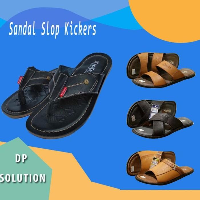 Jual Kickers Sandal Kulit Pria Sandal Kickers Pria Sandal Pria ... 8245cfd64c