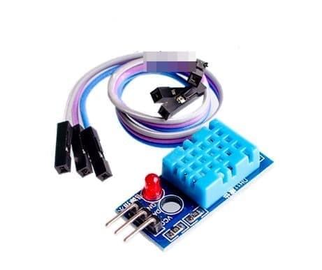Foto Produk DHT 11 DHT11 Modul Sensor Kelembaban Suhu Humidity Temperature Arduino dari solarperfect