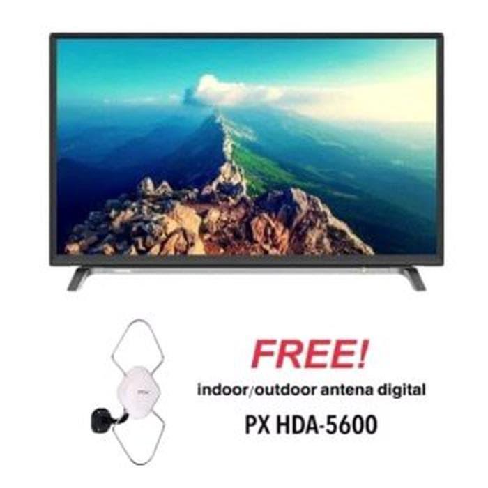 TOSHIBA 43L5650 LED SMART TV 43 INCH FULL HD - PROMO FREE ANTE Diskon