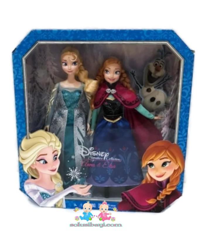 Jual Boneka Barbie Frozen Anna Elsa Original Mattel Super Sale ... 15b8874c78