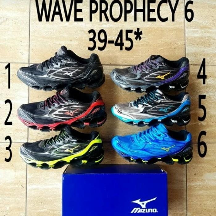 Jual Sepatu Mizuno Wave Prophecy 6 Original Made In China ... 9c254ed31b