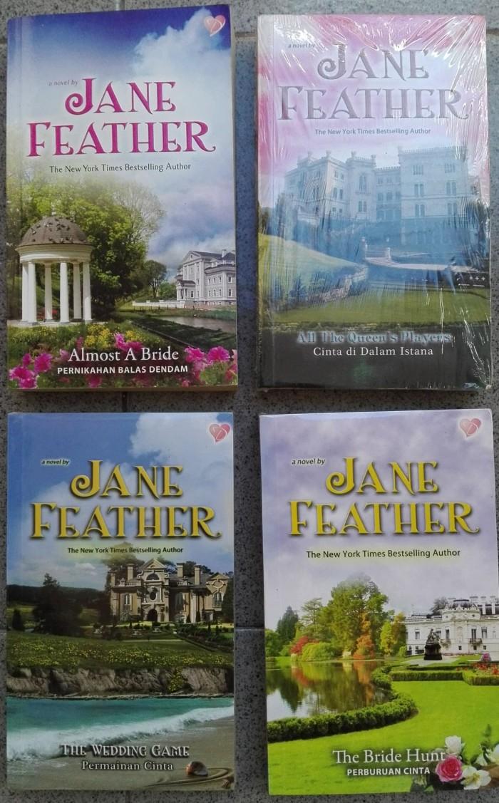 Jual Koleksi Novel Jane Feather Kota Surabaya Khas Sidikalang
