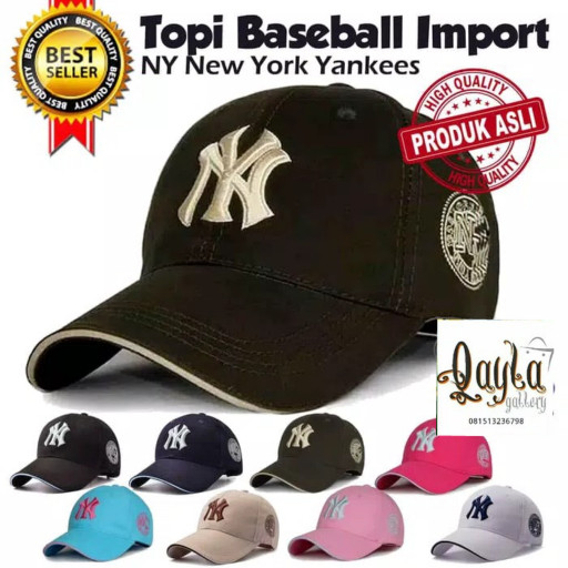 ... harga Topi baseball import ny new york yankees Tokopedia.com b8fcf4d258