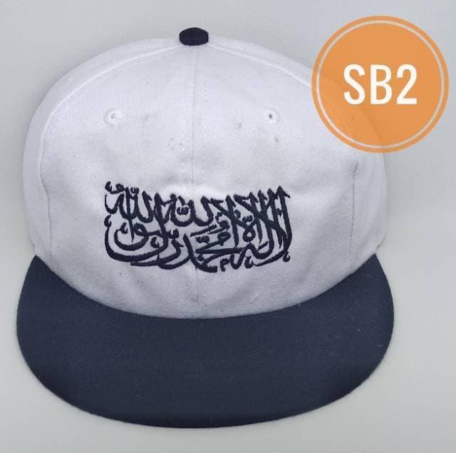 PROMO GROSIR - Snap Back tauhid - TOPI DAKWAH - TOPI TAUHID - SYAHADAT f37d514456