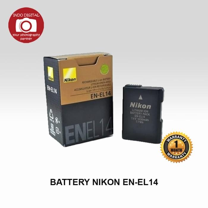 harga Baterai nikon en-el14 Tokopedia.com