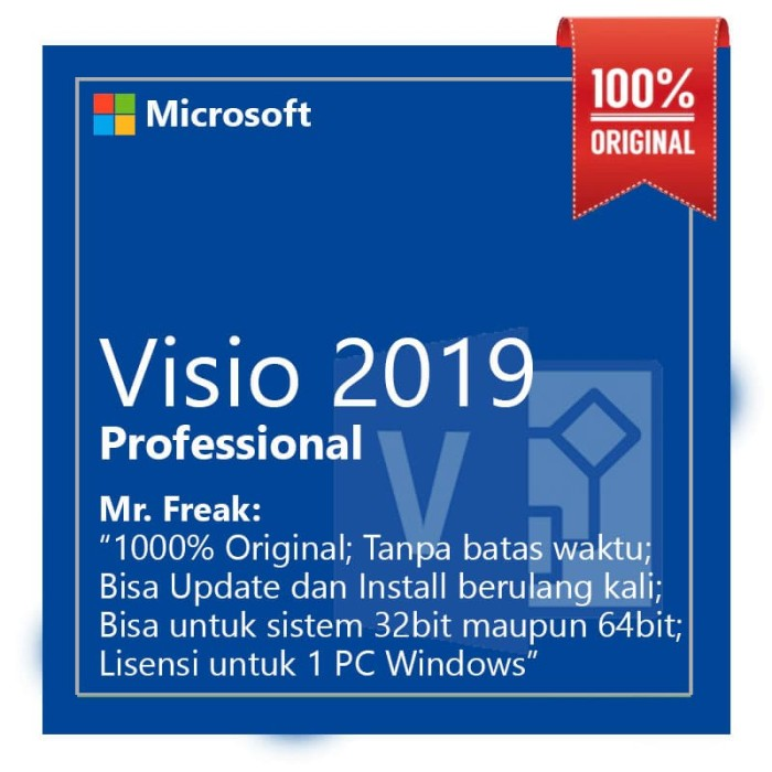 Microsoft Visio Professional 2019 Download