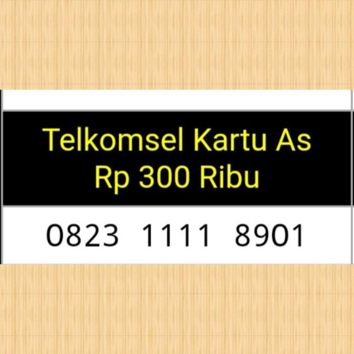 Nomor cantik kartu As 0823 1111 8901 super hoki y