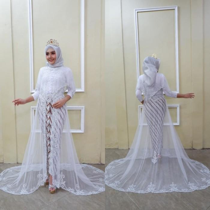 Dijual Kebaya Akad Payet Modern Kebaya Pernikahan Pengantin Modern