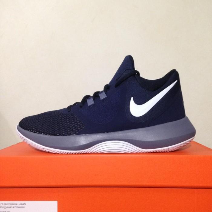 d89b2ff9291 ... harga Sepatu basket nike air precision ii obsidian white aa7069-401 ori  Tokopedia.com