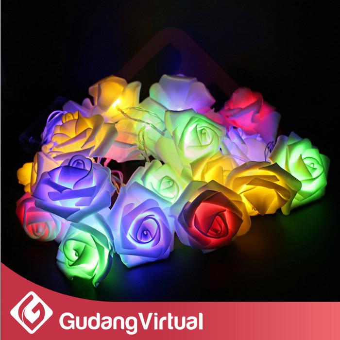 Lampu natal twinkle string hias dekorasi