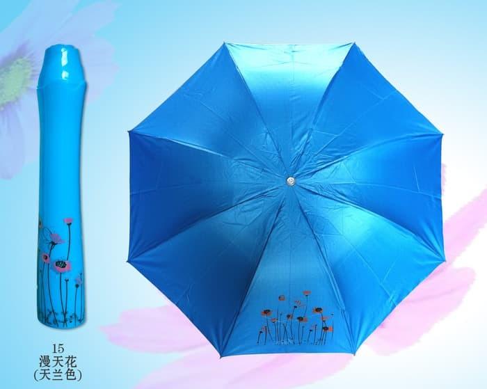 Payung lipat design bunga type 9
