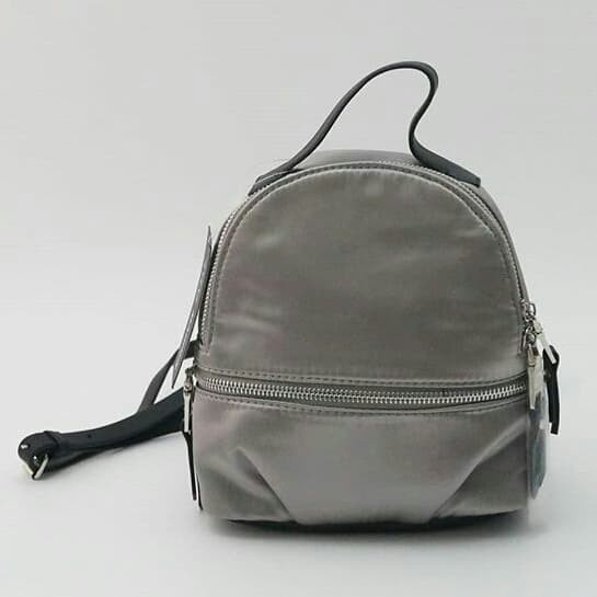 3dc7db88008a Jual Tas Steve Madden original - Sm mini backpack satin grey m - ori ...