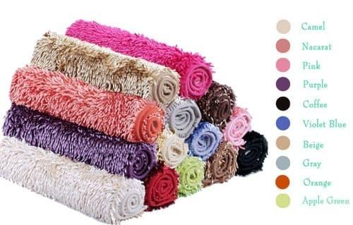 New Keset Cendol Glossy 40 x 60 cm / karpet bulu / alas / doormat