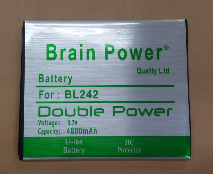 harga Batre battery baterai brain power lenovo a6000 bl-242 double power Tokopedia.com
