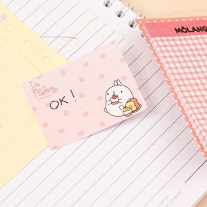 Sale Molang - Sticky Notes Buku Besar-Memo It- Stick It- Post It