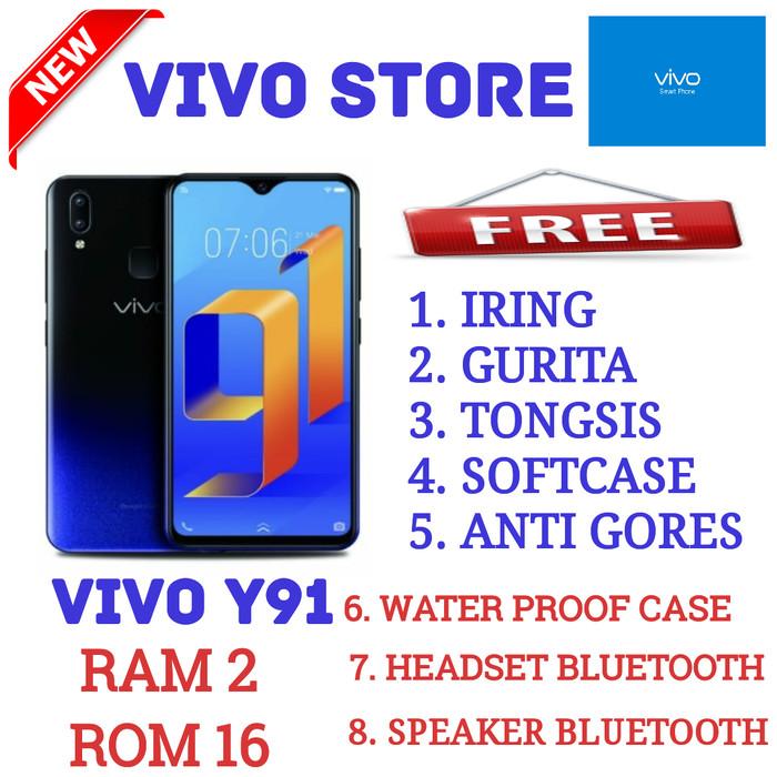 VIVO Y91 RAM 2/16 GARANSI RESMI VIVO INDONESIA - Hitam