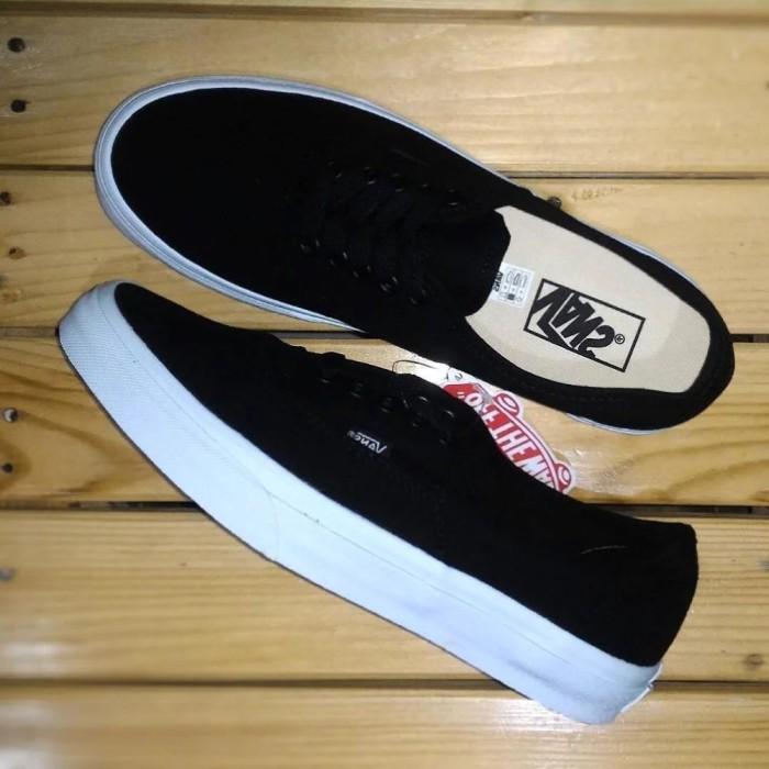 159e7a5cde Jual Sepatu Vans Authentic Mono Black ! - BroSis Distro