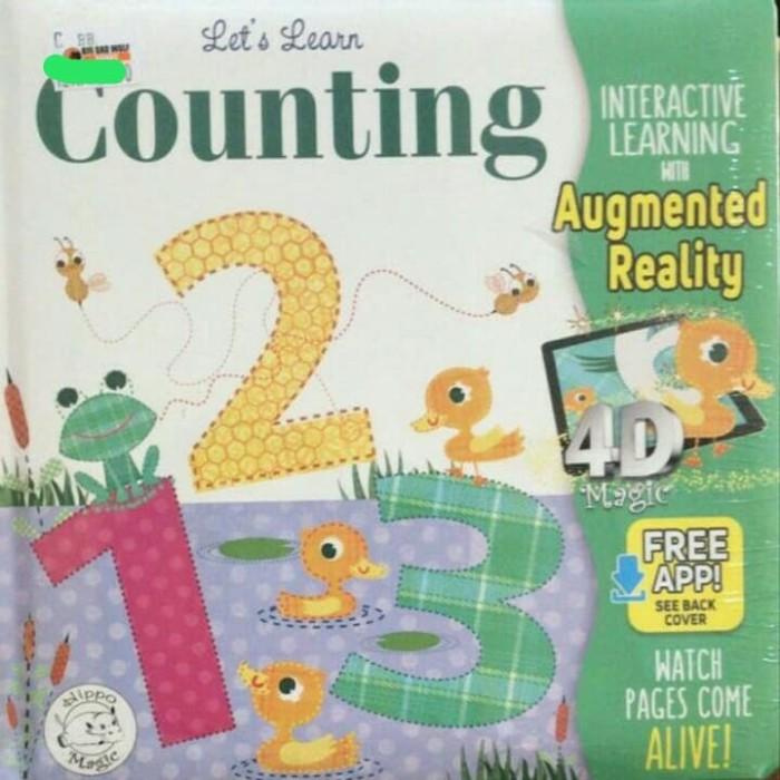 Jual 123 Learn Counting Augmented Reality Book / 4D book / BBW book - Kota  Medan - Sall Trusted Store   Tokopedia