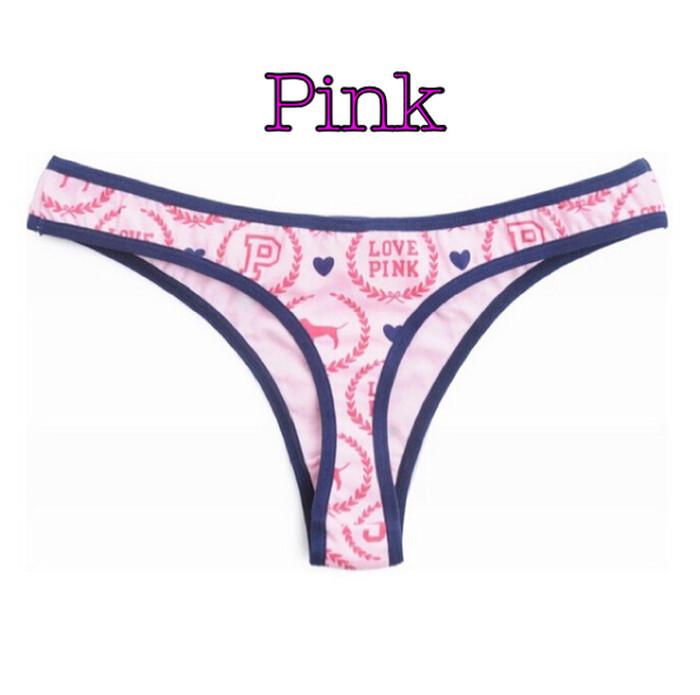 fed9aa2ebad Jual Pink VS Victoria s Secret Gstring Thong Celana Dalam Wanita ...