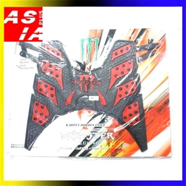 harga Aksesoris karpet monster d8l variasi motor honda vario 125 150 esp red Tokopedia.com