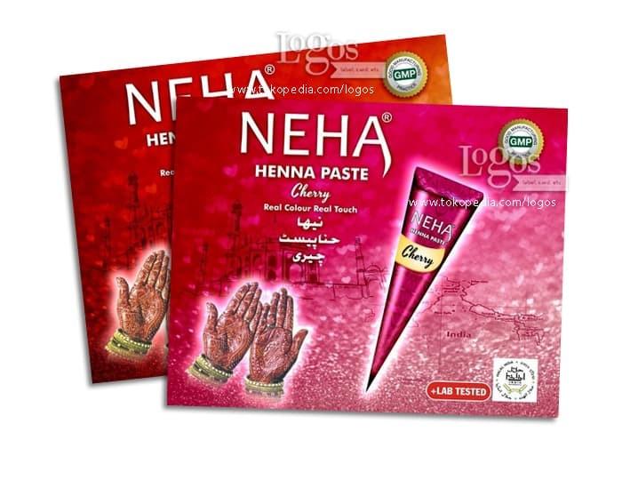 Jual Neha Henna Paste Pacar Bubuk Hena Halal India Golecha Cone Hand