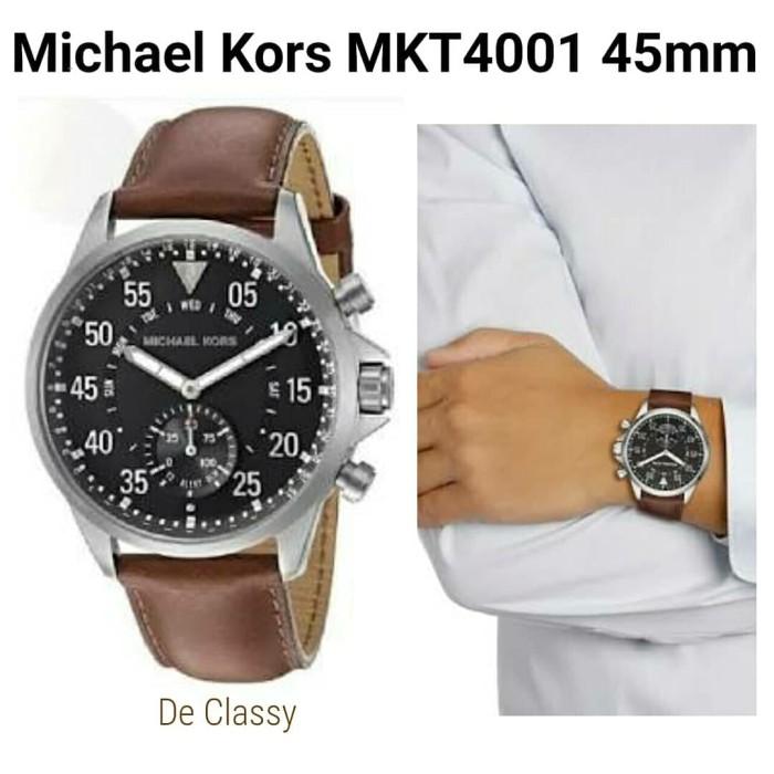 7adb501240c9 Jual Jam Michael Kors MKT4001 Hybrid Smartwatch 45mm - De Classy ...